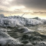 panama city beach ocean break photography