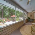 pool house porch study