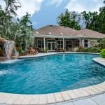 pool house photography