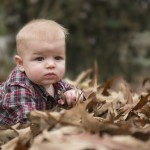 Child Photography Fall Leaves